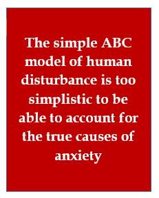 The ABC model can't explain anxiety