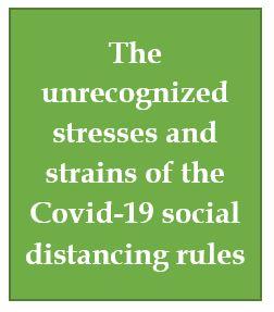 Stress, strain, Covid-19