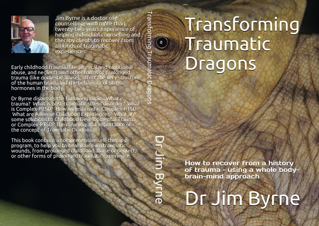 Whole cover Dragons Trauma book June 2020