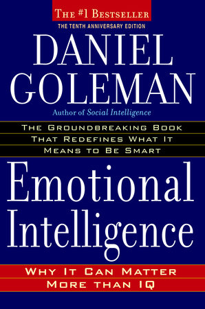 Emotional intelligence, Daniel Goleman, cover
