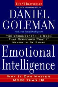 Emotional intelligence, Daniel Goleman, cover
