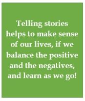 Telling stories is good psychotherapy
