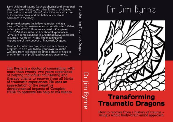 Whole cover 2, Dragons Trauma book June 2020