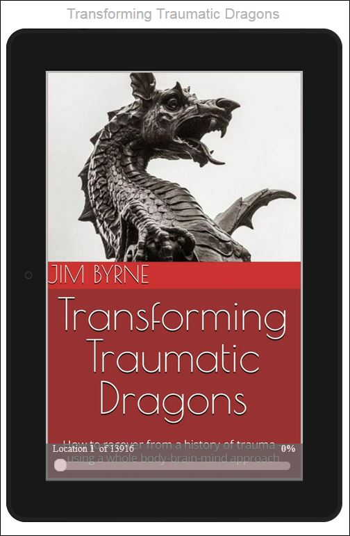 Traumatic Dragons dBook cover, 2